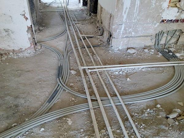 سیم کشی برق ساختمان - بازسازی ساختمان