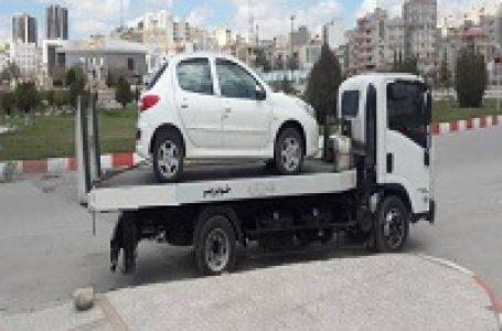 حمل خودرو از تهران به تبریز